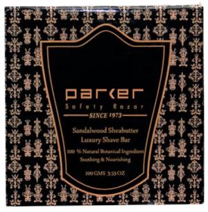 PARKER SANDALWOOD & SHEA SOAP 100gram BAR n Logo OK