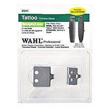 Wahl trimmer replacement blade tattoo 2 hole rubinov 39 s for Wahl tattoo clippers