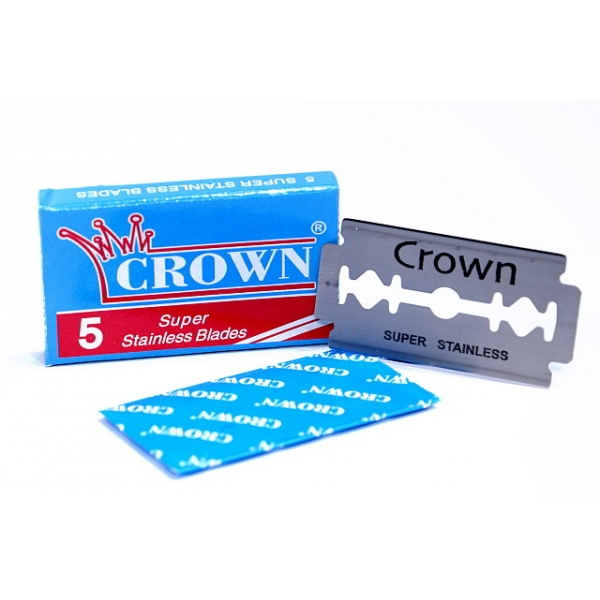 crown-super-stainless-blades-5-pcs